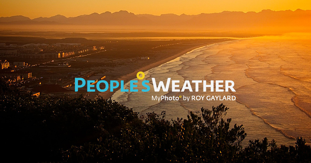 People°s Weather on DStv Channel 180, for people living the weather.