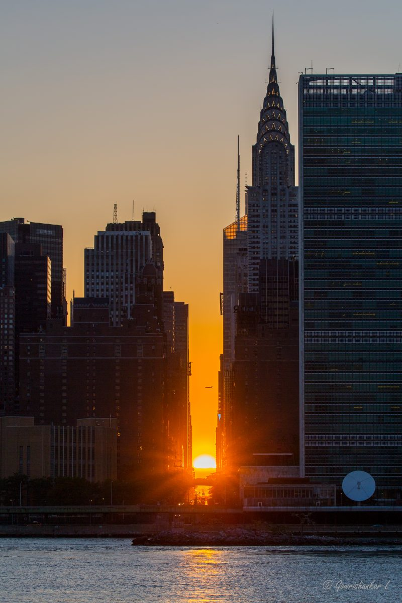 Manhattanhenge Comes To New York City